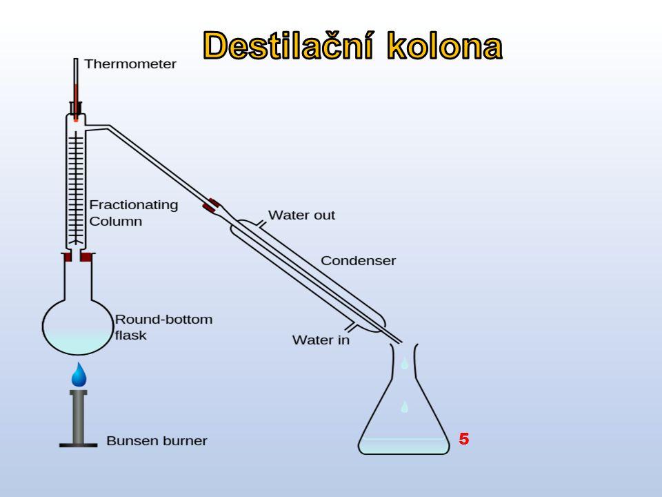 Destilační kolona 5