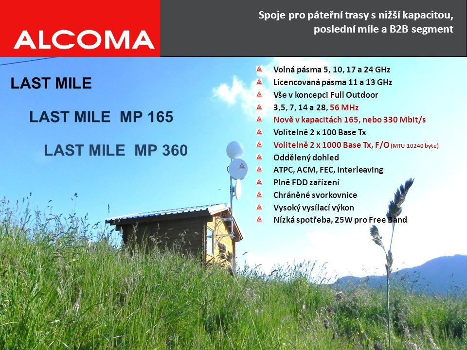 LAST MILE MP 165 LAST MILE MP 360