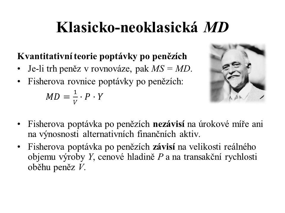 Klasicko-neoklasická MD