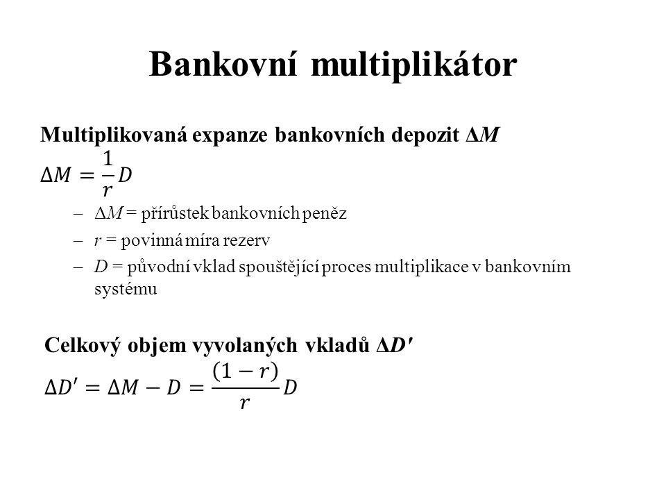 Bankovní multiplikátor