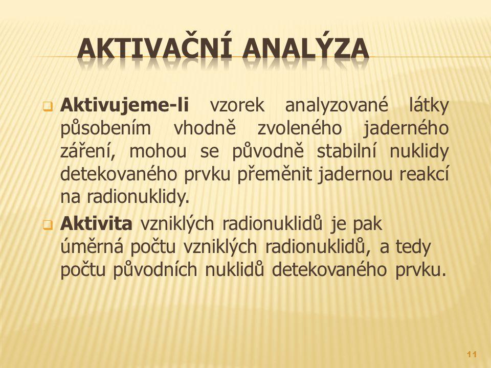 Aktivační analýza