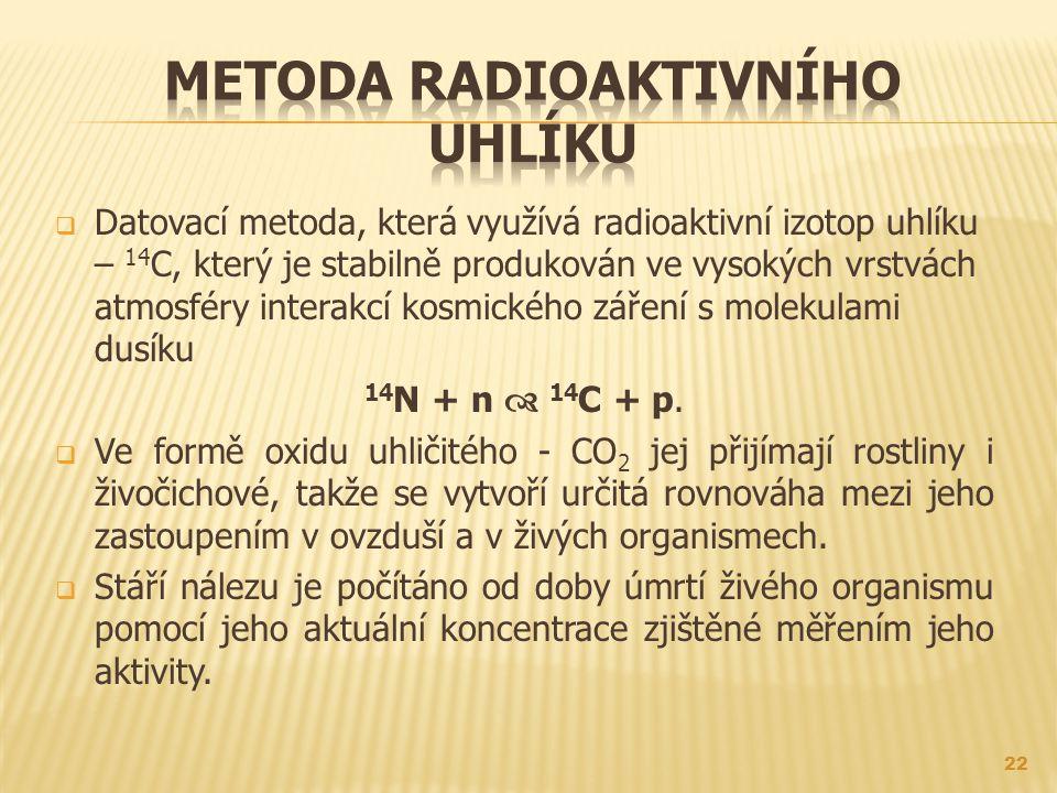 Metoda radioaktivního uhlíku