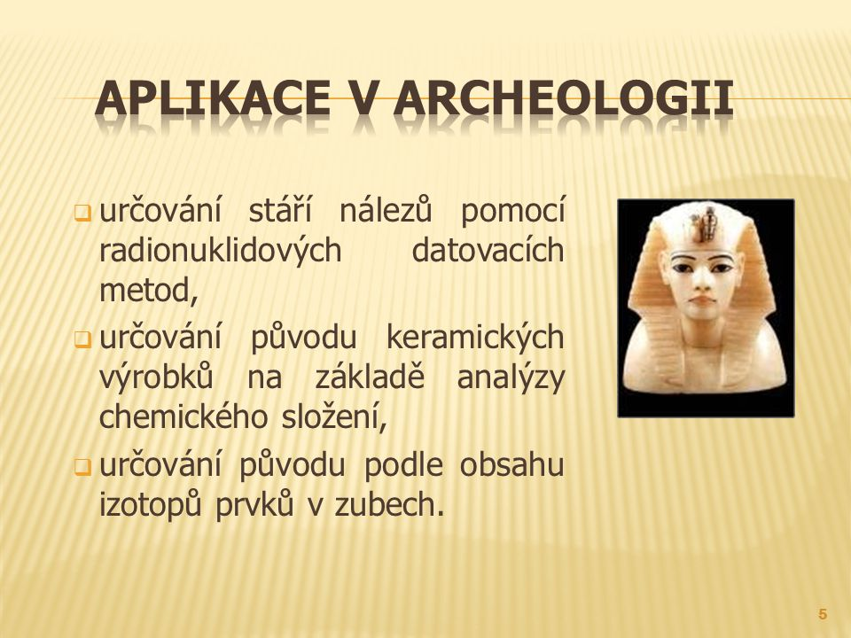 Aplikace v archeologii