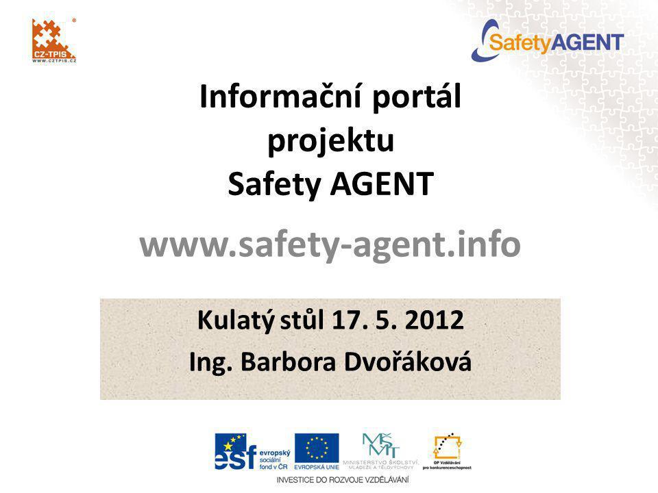 Informační portál projektu Safety AGENT