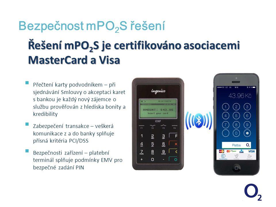 Bezpečnost mPO2S řešení