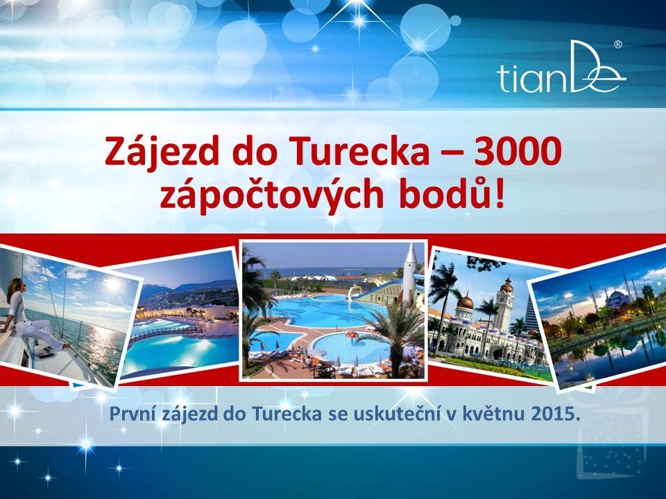 Zájezd do Turecka – 3000 zápočtových bodů!