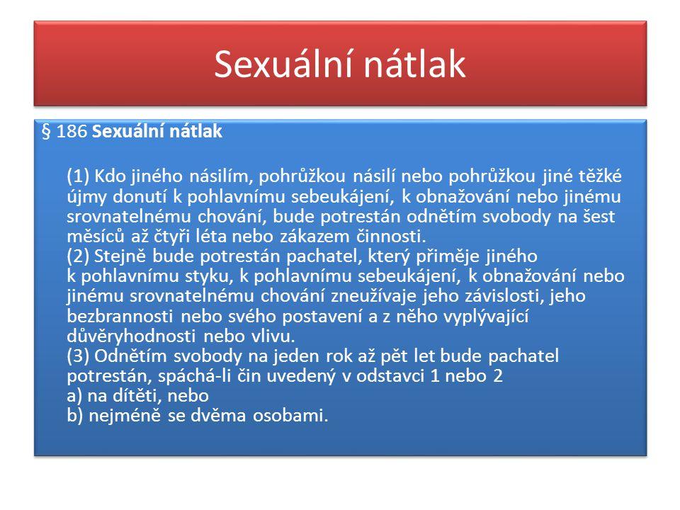 Sexuální nátlak