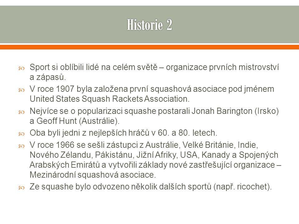 Historie 2 Sport si oblíbili lidé na celém světě – organizace prvních mistrovství a zápasů.