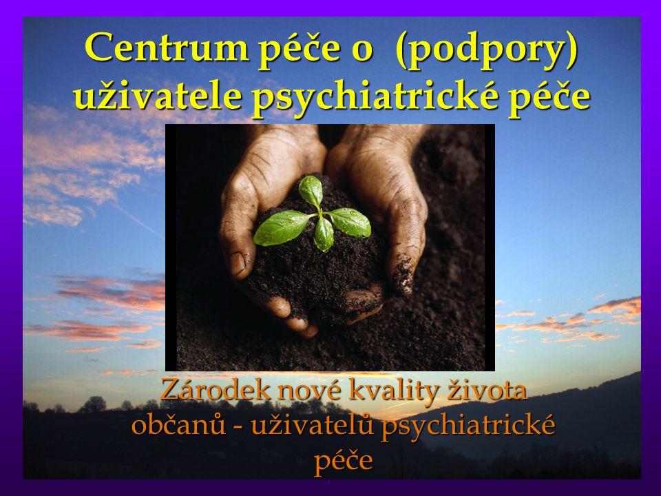 Centrum péče o (podpory) uživatele psychiatrické péče