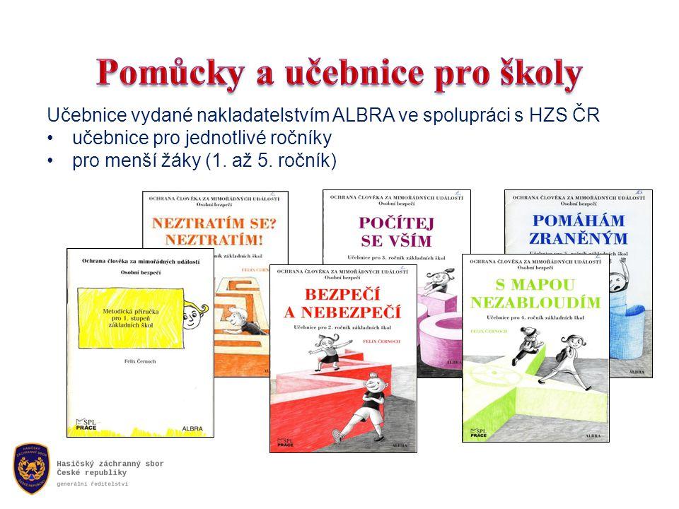 Učebnice vydané nakladatelstvím ALBRA ve spolupráci s HZS ČR