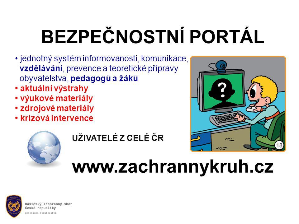 BEZPEČNOSTNÍ PORTÁL www.zachrannykruh.cz
