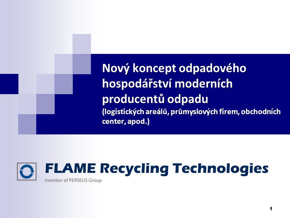 Nový koncept odpadového hospodářství moderních producentů odpadu (logistických areálů, průmyslových firem, obchodních center, apod.)