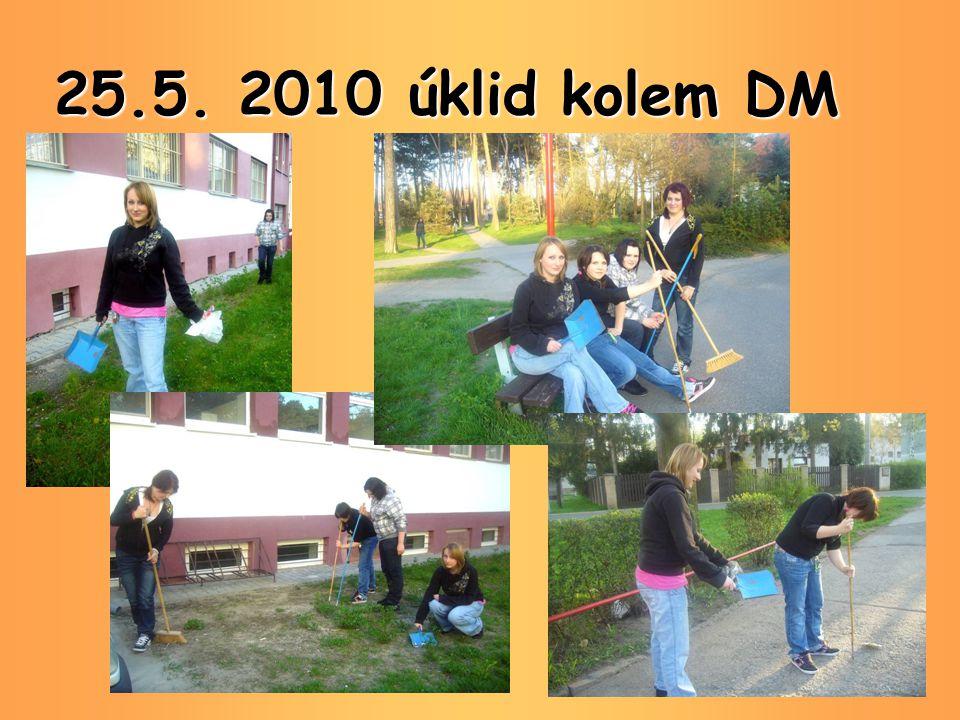 25.5. 2010 úklid kolem DM