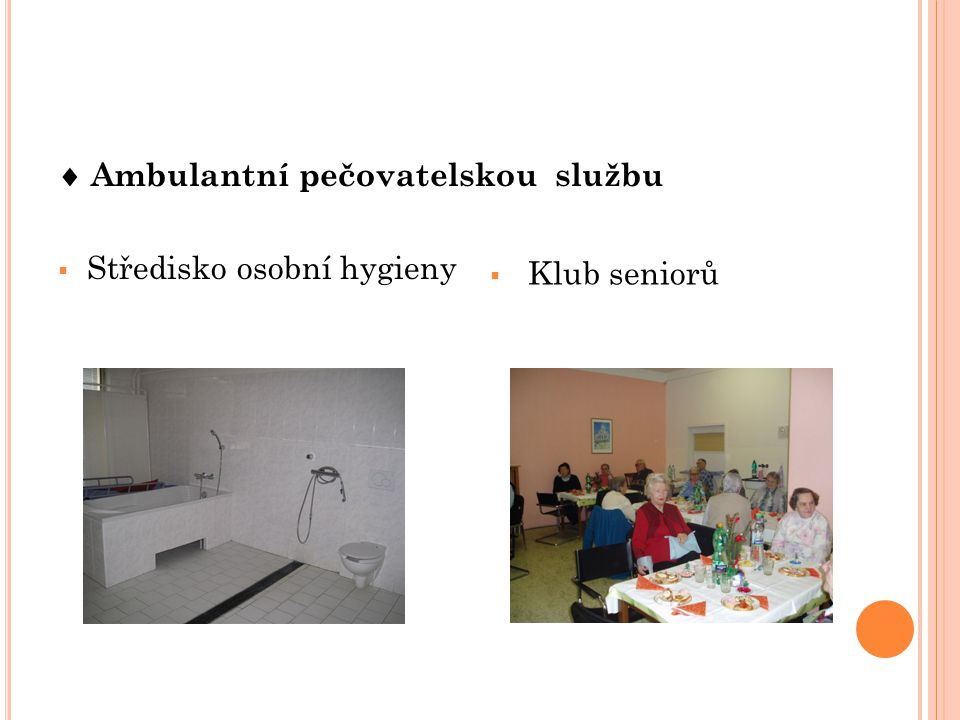  Ambulantní pečovatelskou službu