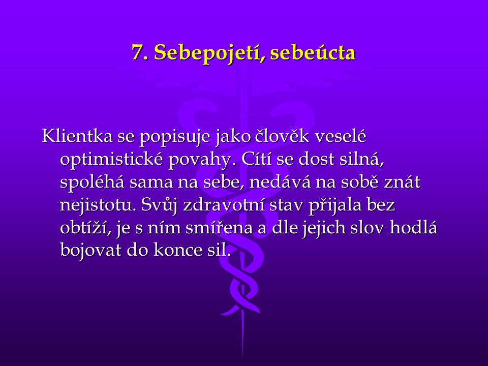 7. Sebepojetí, sebeúcta