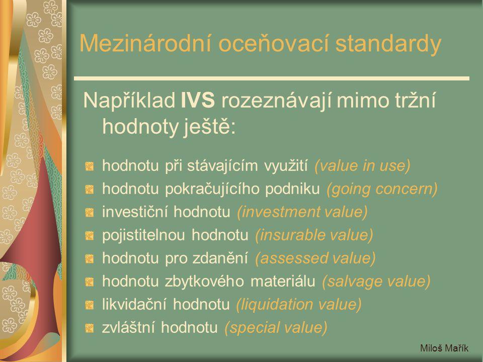 Mezinárodní oceňovací standardy