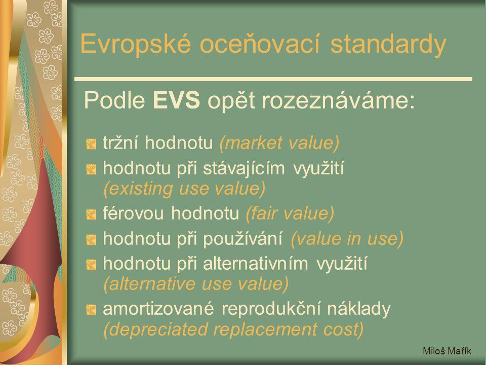 Evropské oceňovací standardy