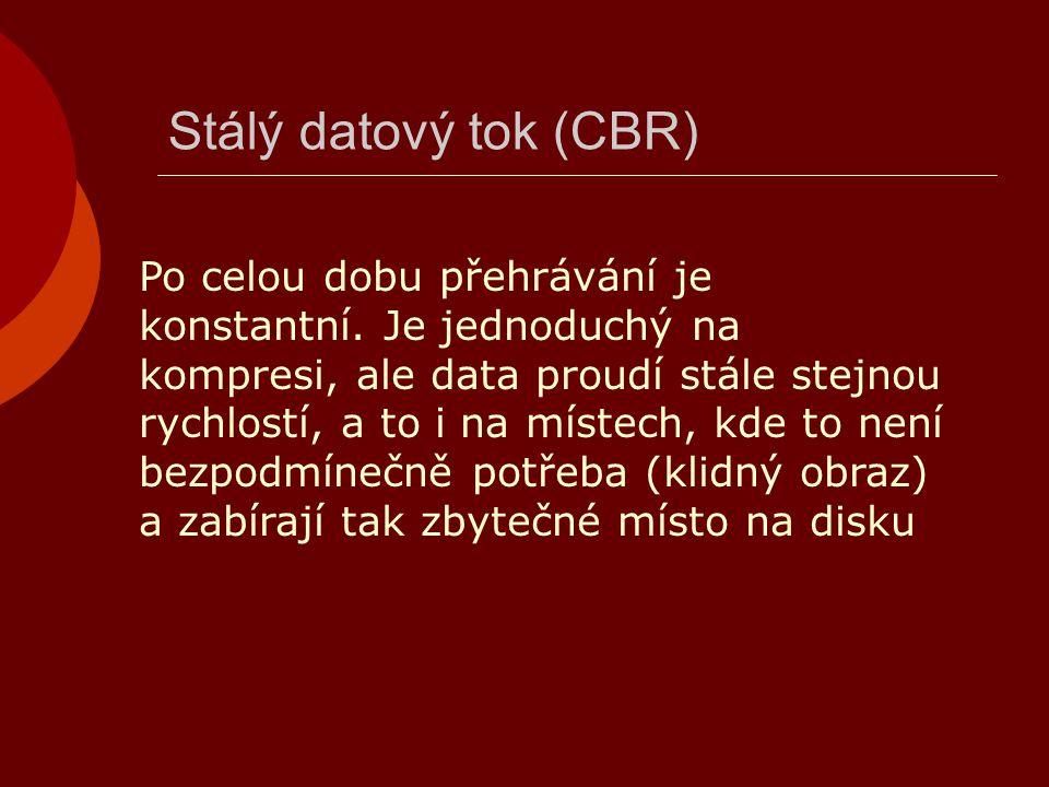 Stálý datový tok (CBR)