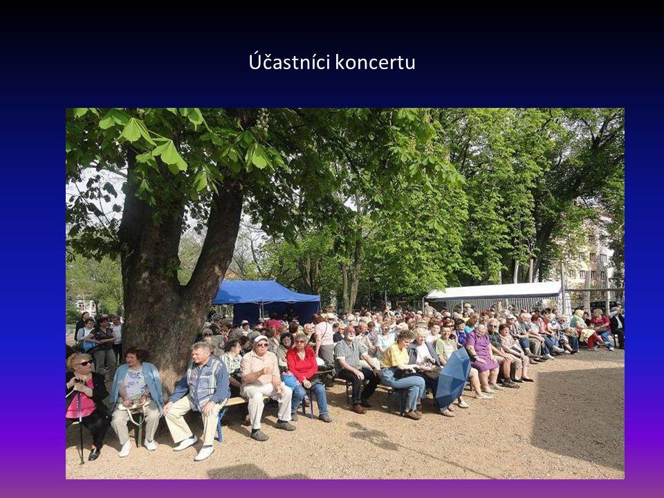 Účastníci koncertu