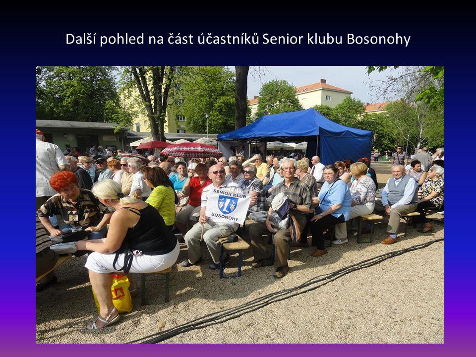 Další pohled na část účastníků Senior klubu Bosonohy