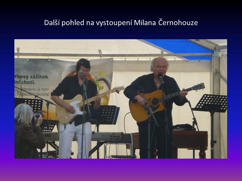 Další pohled na vystoupení Milana Černohouze