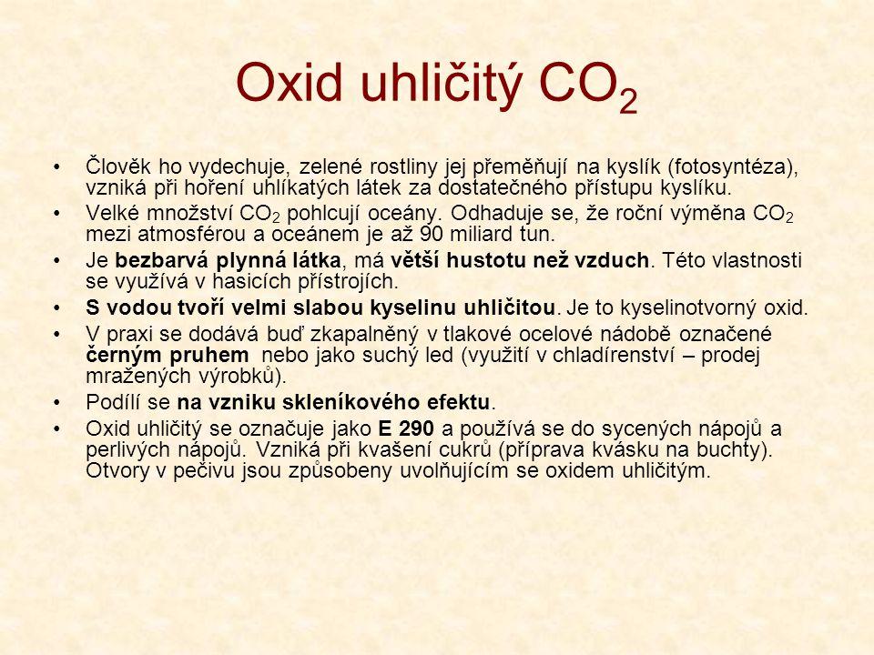 Oxid uhličitý CO2