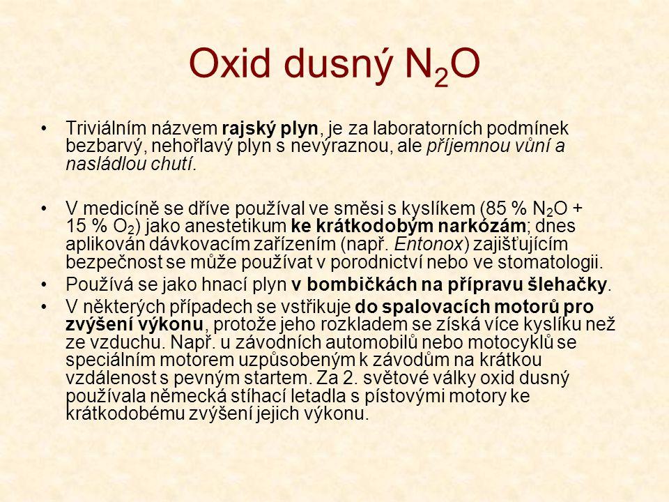 Oxid dusný N2O