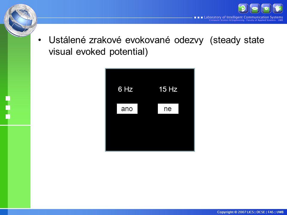 Ustálené zrakové evokované odezvy (steady state visual evoked potential)