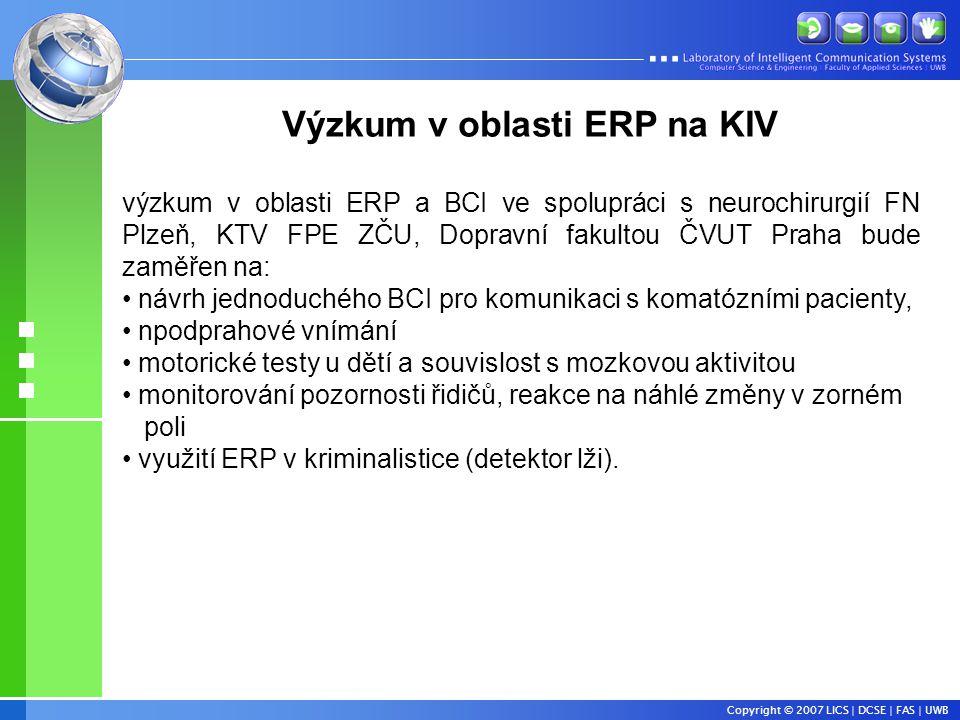 Výzkum v oblasti ERP na KIV