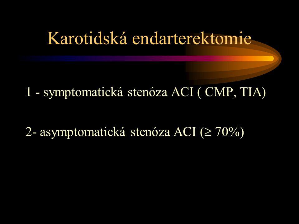 Karotidská endarterektomie