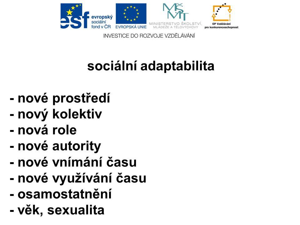 sociální adaptabilita