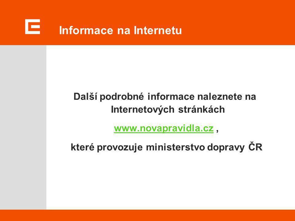 Informace na Internetu