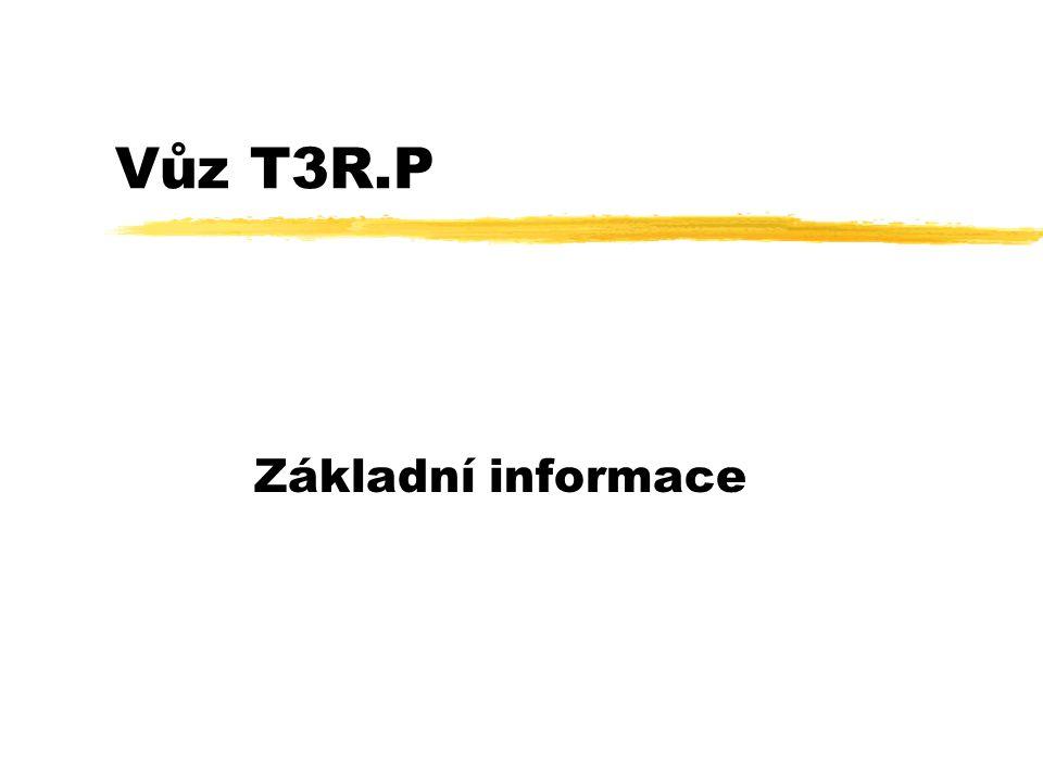 Vůz T3R.P Základní informace