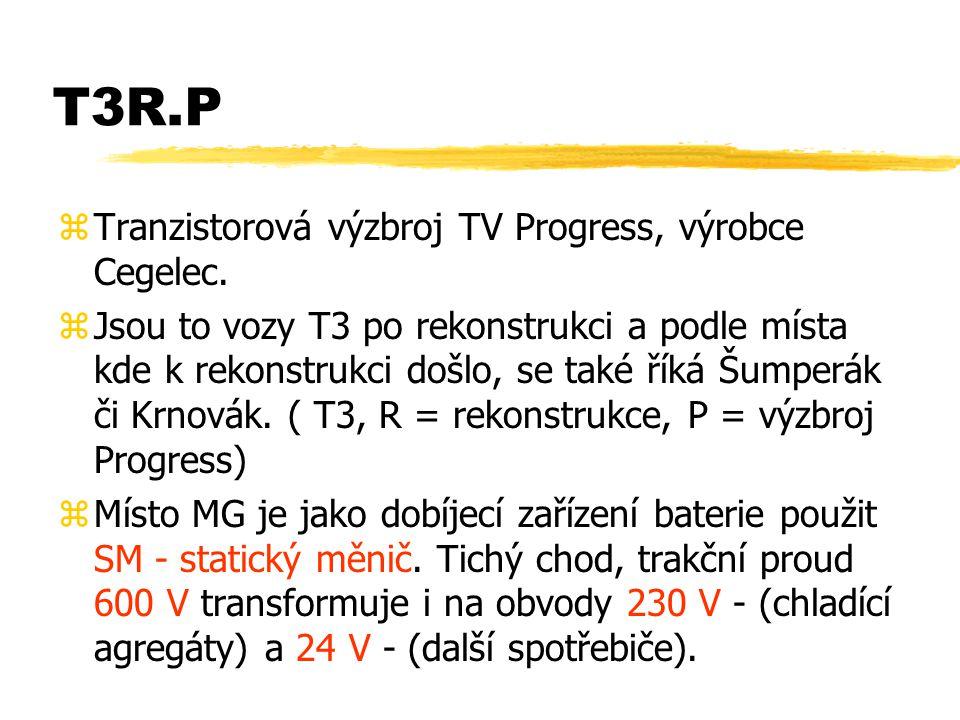 T3R.P Tranzistorová výzbroj TV Progress, výrobce Cegelec.