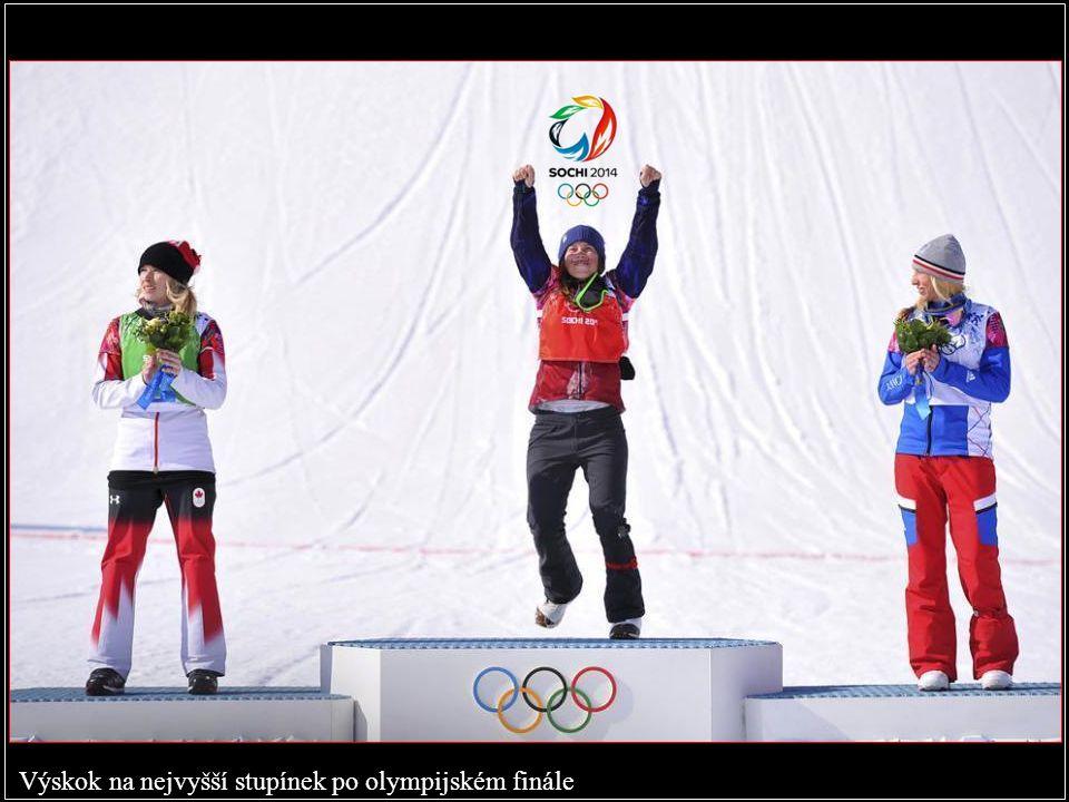 Výskok na nejvyšší stupínek po olympijském finále