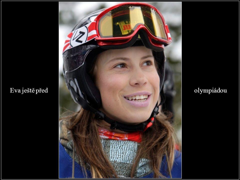 Eva ještě před olympiádou
