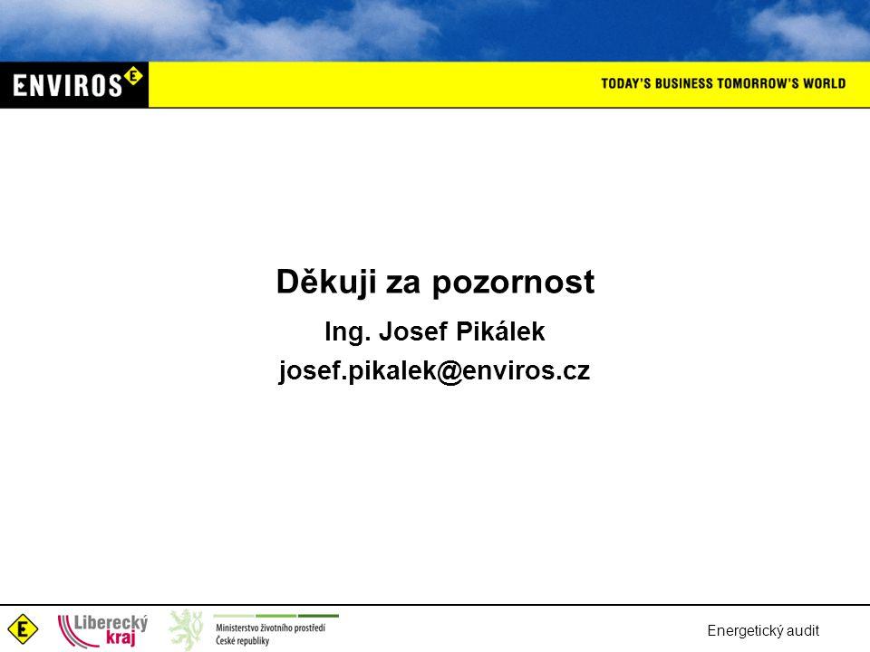 Ing. Josef Pikálek josef.pikalek@enviros.cz