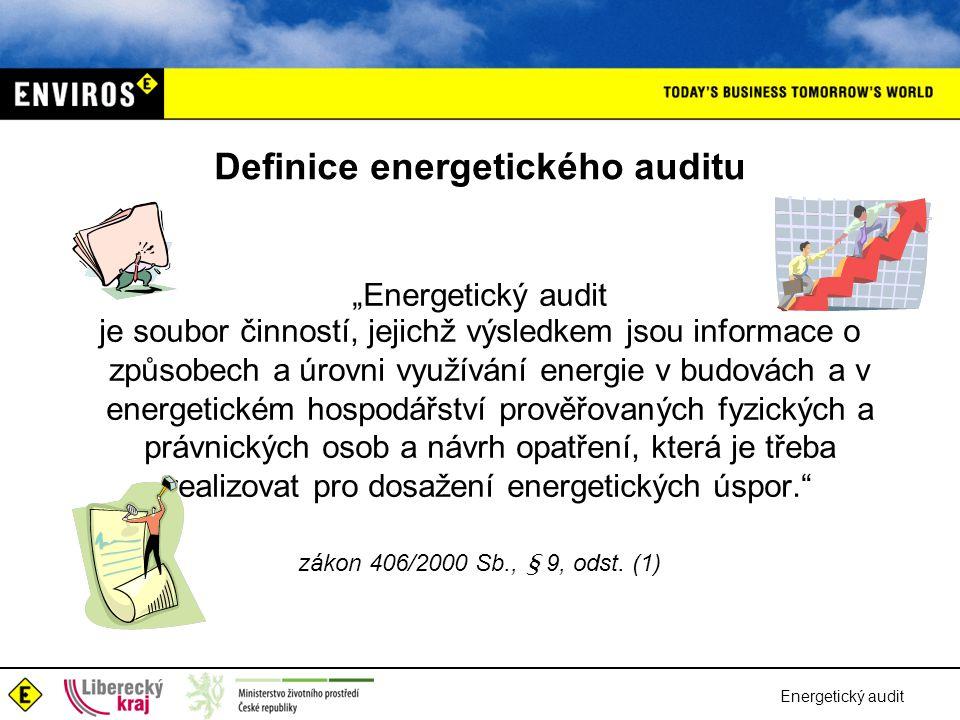 Definice energetického auditu