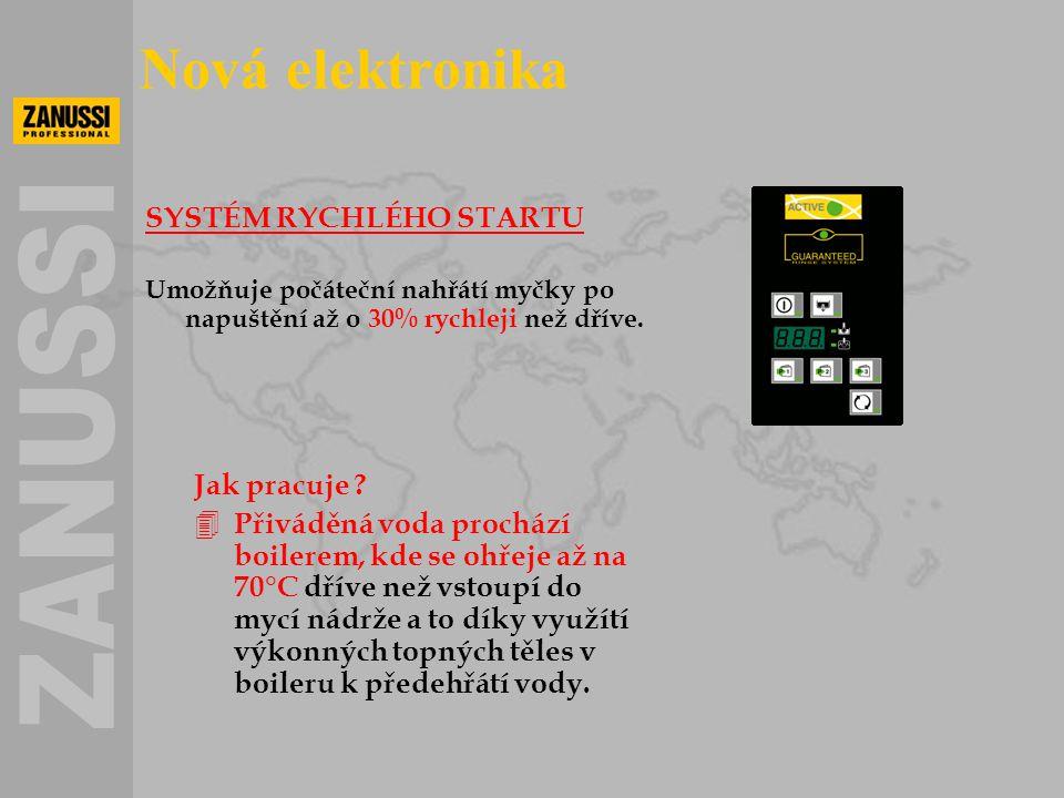 Nová elektronika SYSTÉM RYCHLÉHO STARTU Jak pracuje
