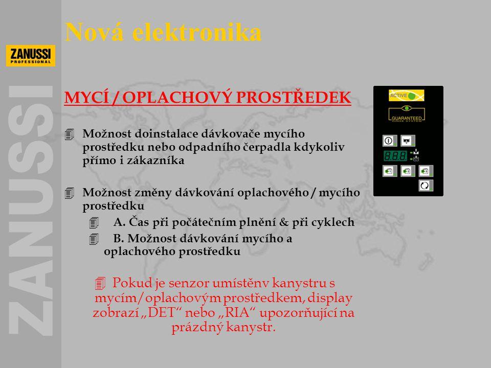 Nová elektronika MYCÍ / OPLACHOVÝ PROSTŘEDEK