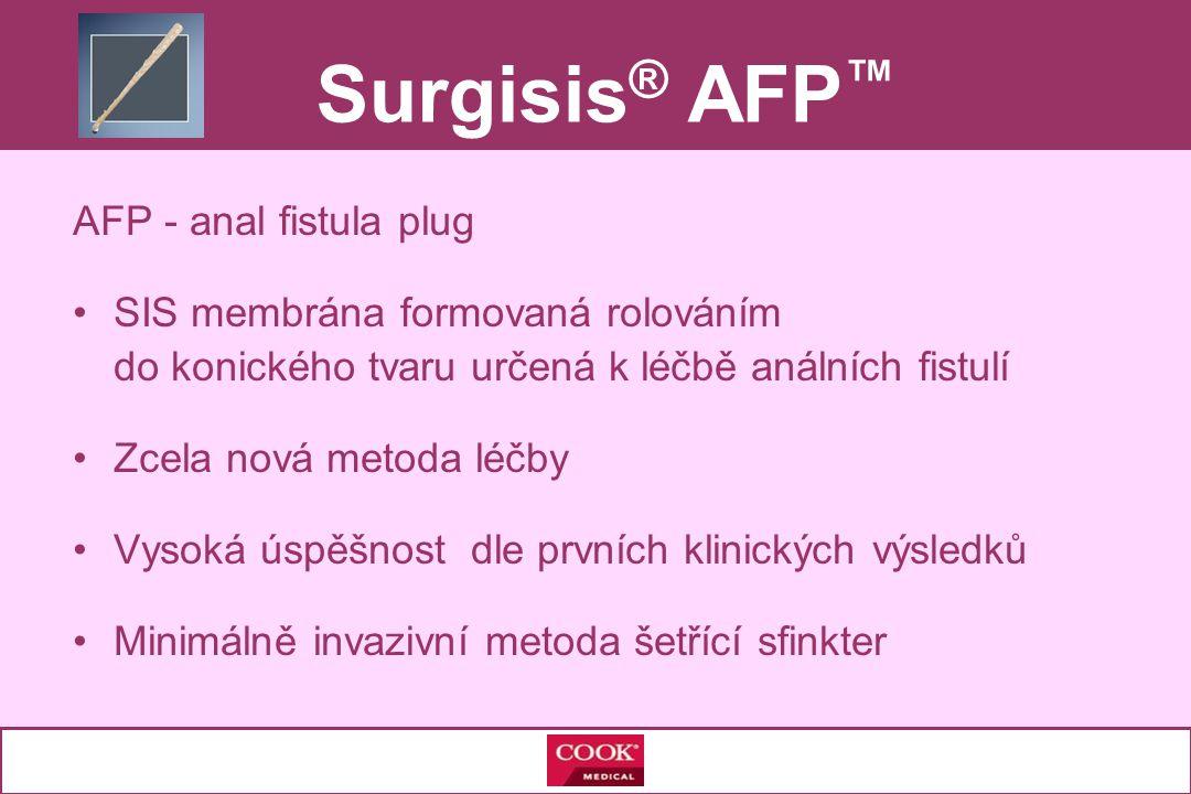 Surgisis® AFP™ AFP - anal fistula plug