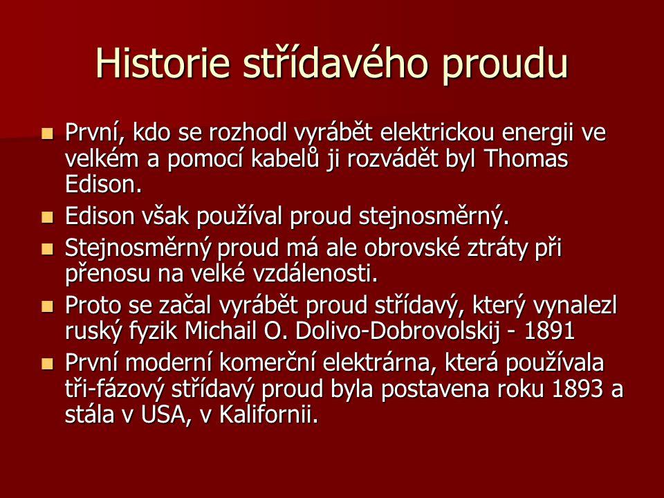 Historie střídavého proudu