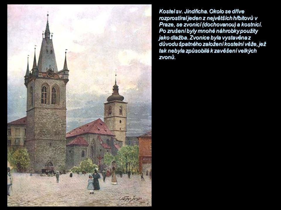 Kostel sv. Jindřicha.