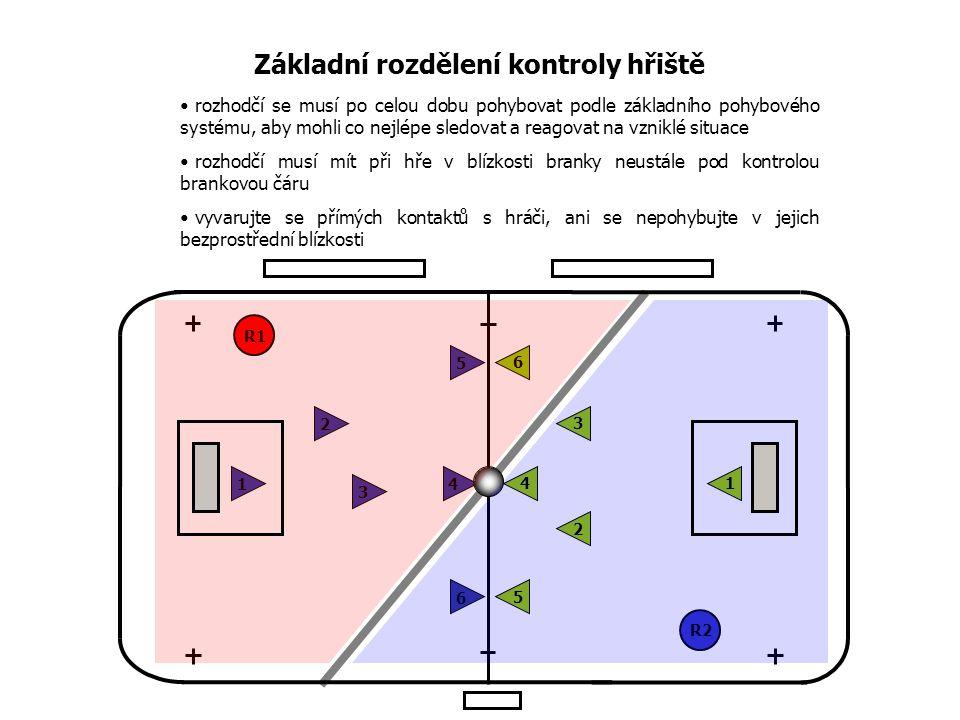 Základní rozdělení kontroly hřiště