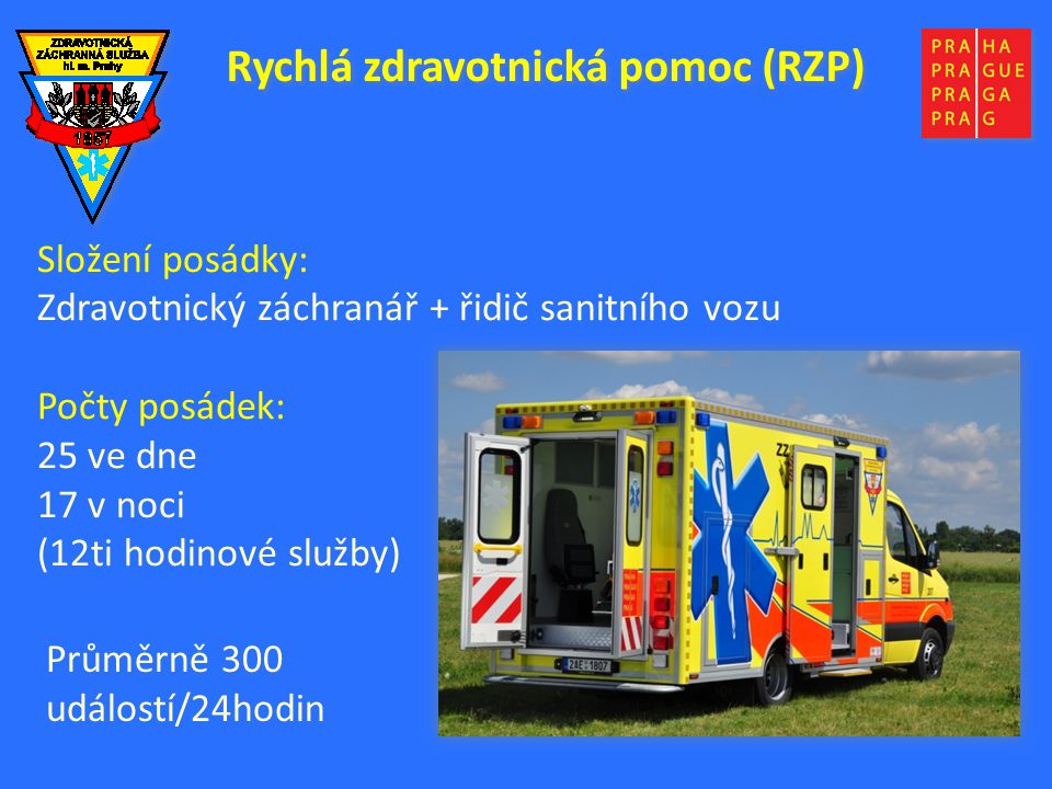 Rychlá zdravotnická pomoc (RZP)