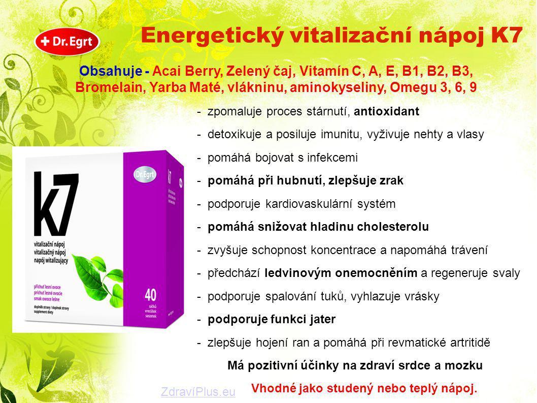 Energetický vitalizační nápoj K7