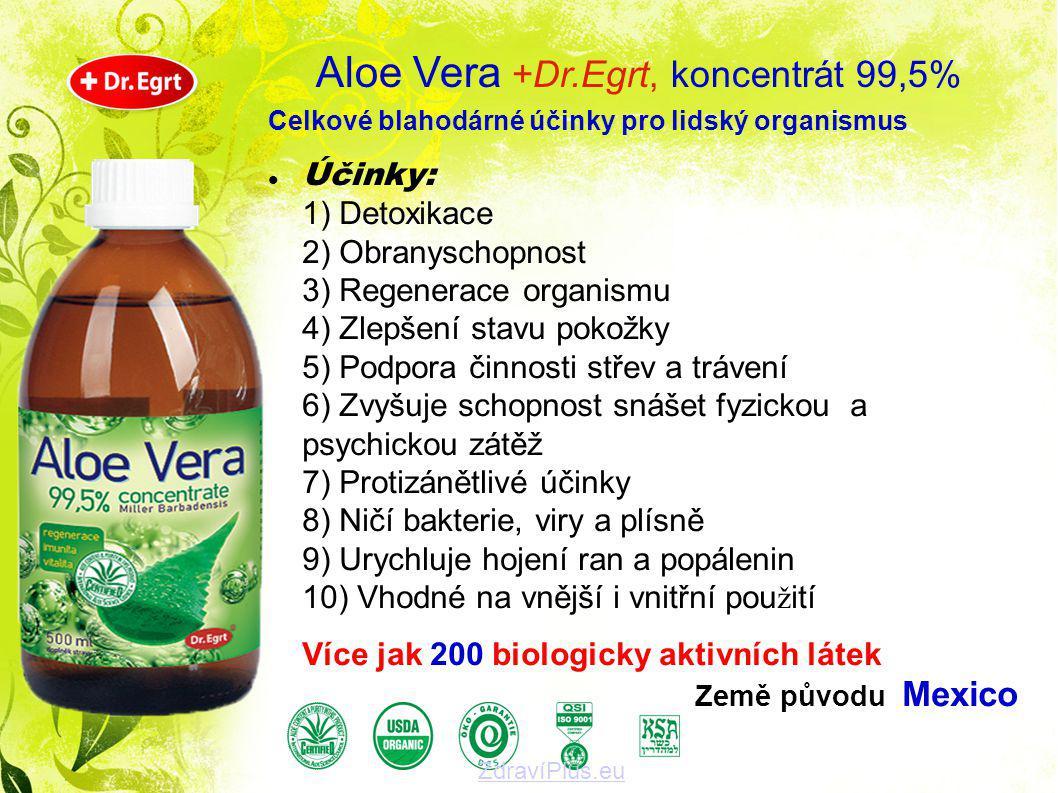 Aloe Vera +Dr.Egrt, koncentrát 99,5%
