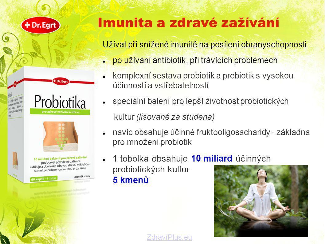 Imunita a zdravé zažívání