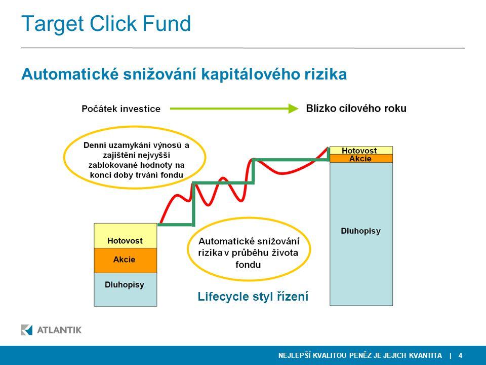 Target Click Fund Automatické snižování kapitálového rizika