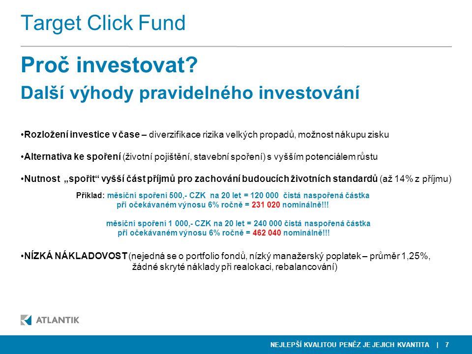 Proč investovat Další výhody pravidelného investování